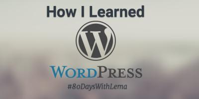 how i learned wordpress