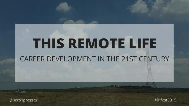 This Remote Life