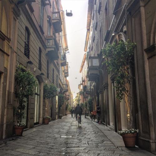 milan pedestrian